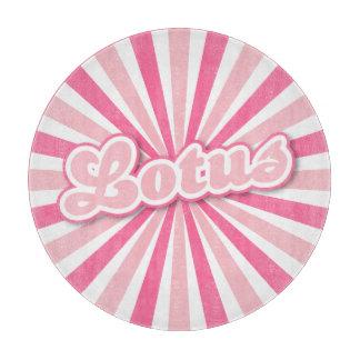 Sol- strålar för rosa lotusblommashock rosa