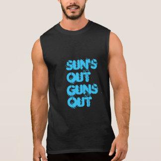 Solar ut ärmlösa tröjor