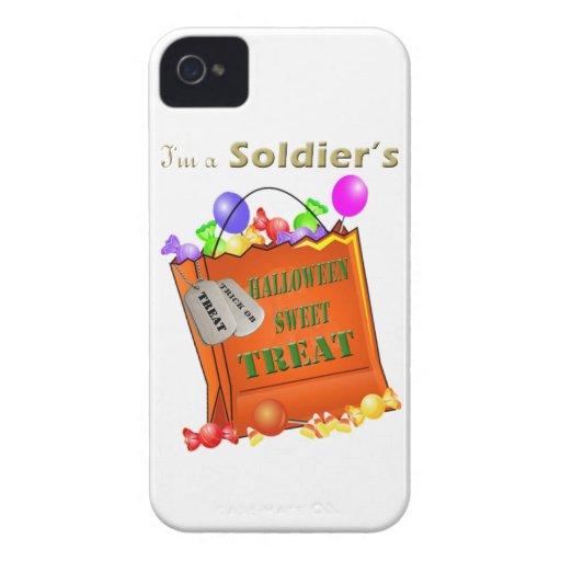 Soldat blackberry fodral för Halloween söt fest