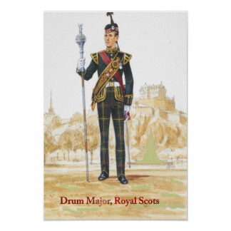 Soldater av drottningen, trummar ha som huvudämne, poster