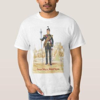 Soldater av drottningen, trummar ha som huvudämne, t-shirts