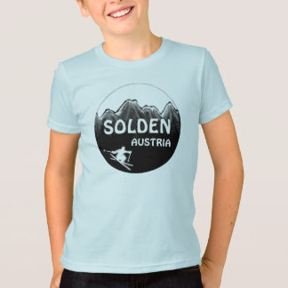 Solden Österrike blåttpojkar skidar Tröjor