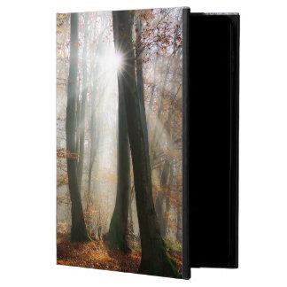 Solen Rays den Mystic dimmiga skogen, hardcase Powis iPad Air 2 Skal