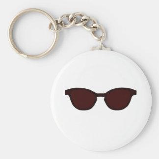 Solglasögonen bryner kanten bruna Lens MUSEET Zazz Nyckel Ring