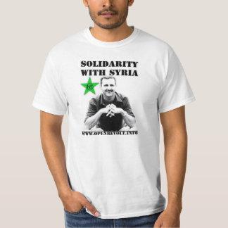 Solidaritet med Syrien T Shirts