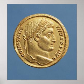 Solidus av Constantine mig Poster