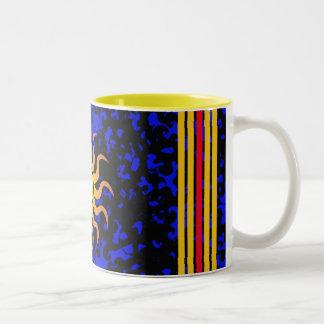 Solig dagkaffemugg Två-Tonad mugg