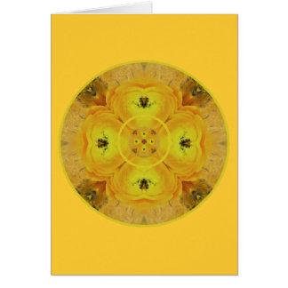 Solig Dayz solarplexus Chakra Hälsningskort