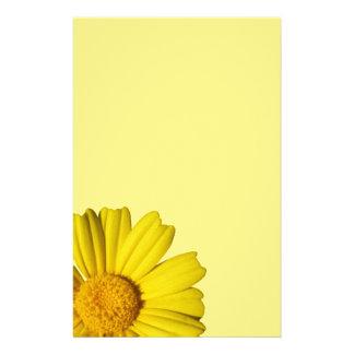 Solig gul chamomile brevpapper