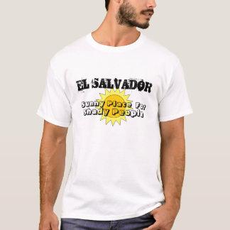 Soligt ställe, för, skuggigt folk, EL SALVADOR Tröjor