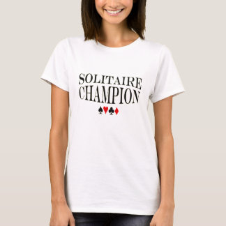 Solitairemästare T Shirts