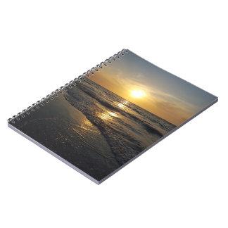 Solnedgång Anteckningsbok