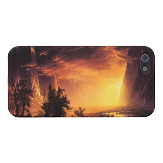 Solnedgång i fodral för Yosemite daliPhone 5 iPhone 5 Skal