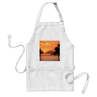 Solnedgång i tropikerna Maui Förkläde