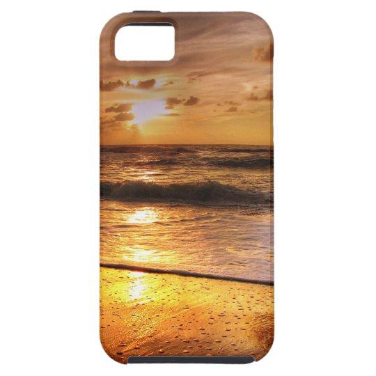 Solnedgång iPhone 5 Hud