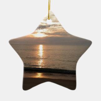 Solnedgång Julgransprydnad Keramik