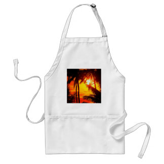 Solnedgång Maui Förkläde
