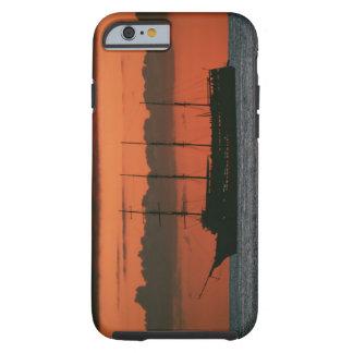 Solnedgång och frakt tough iPhone 6 skal