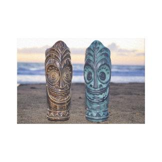 Solnedgång över polynesianen canvastryck