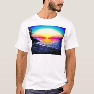 Solnedgång över vatten tröja