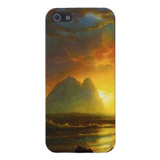 Solnedgång på fodral för Kalifornien kusteniPhone  iPhone 5 Fodraler