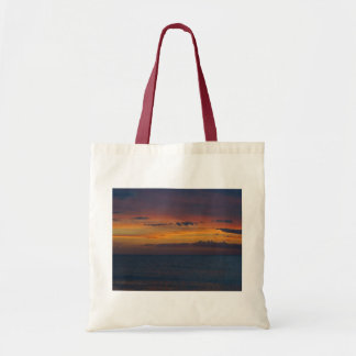 Solnedgång på hav tygkasse