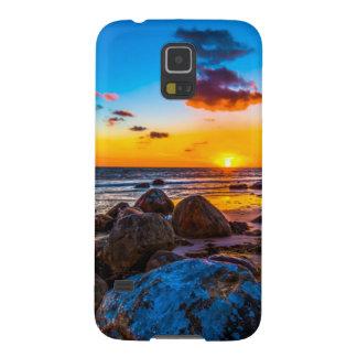Solnedgång på havet galaxy s5 fodral