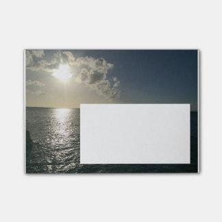Solnedgång Posta-honom Post-it Block