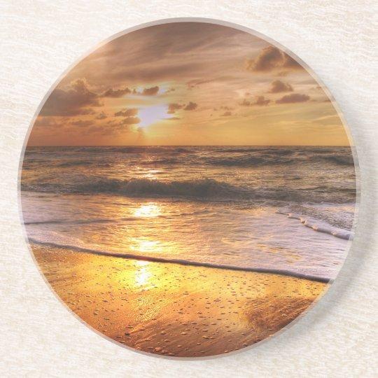 Solnedgång Underlägg Sandsten