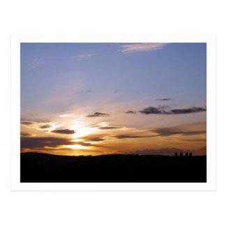 Solnedgång Vykort