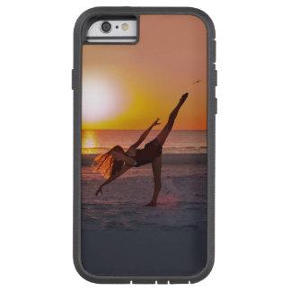 Solnedgångbalett på stranden tough xtreme iPhone 6 case