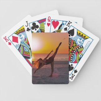 Solnedgångbalett Spelkort
