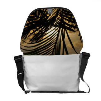 Solnedgånghandflatan Messenger Bag