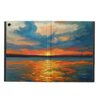 Solnedgångintryck iPad Air Skydd