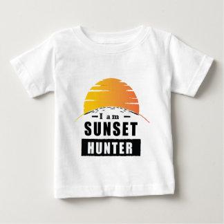 Solnedgångjägare för fotograf t shirts