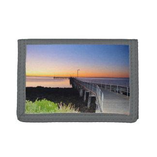 Solnedgångkyssar, port Victoria, Australien,