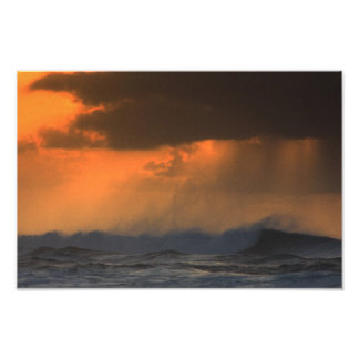 Solnedgångmistfoto vid Troy Anthony Tacchi Fotografiskt Tryck