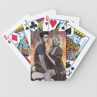 Solnedgångritt Spelkort