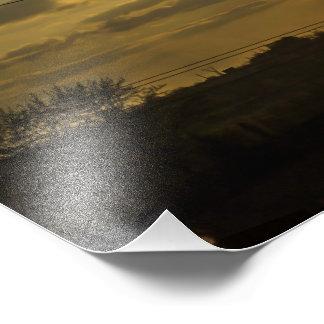 solnedgångsol fototryck