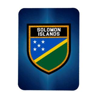 Solomon Island flagga Magnet