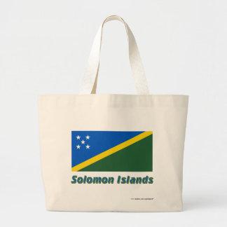 Solomon Island flagga med namn Kassar