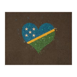 Solomon Island sjunker glänsande unikt Kork Papper