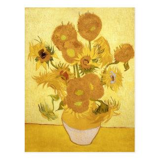 Solrosor av Van Gogh Vykort