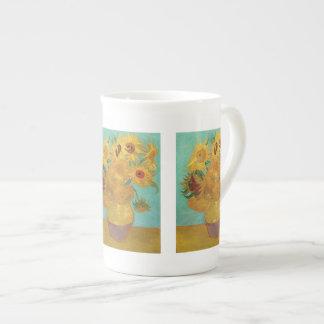 Solrosor av Vincent Van Gogh Tekopp