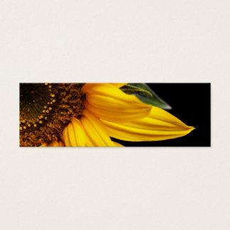 Solrosor - solros tom skräddarsy mall litet visitkort
