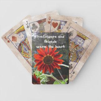 Solrosor & vänner! spelkort