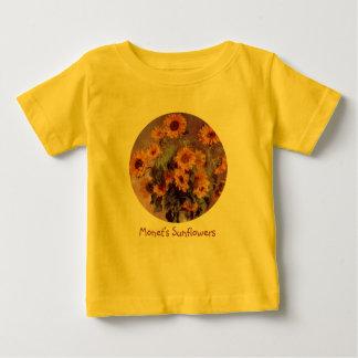 Solrosor vid Claude Monet T-shirt