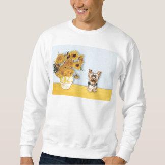 Solrosor - Yorkshire Terrier 17 Långärmad Tröja