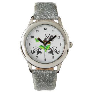 SolrosPandabjörnar Armbandsur