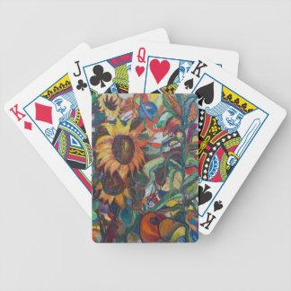 Solrosträdgården Spelkort